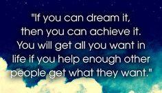 Dream It to Achieve It...12 powerful Zig Ziglar quotes