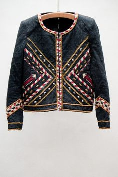 Hippo Jacket Isabel Marant.  I just repinned this because I don't know one woman who would buy a jacket that was called Hippo Jacket.  Just sayin......