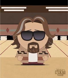 9d02335b4a The Big Lebowski – South Park Films Iconic Movie Characters