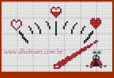 Blackwork Cross Stitch, Cross Stitching, Cross Stitch Patterns, Crochet Patterns, Wedding Cross Stitch, Cross Stitch Heart, Cross Stitch Alphabet, Hama Beads Disney, Alpha Patterns
