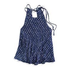 Stitch Fix Summer Styles: Polka Dot Tank