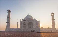 Taj Mahal was built by order of Shah Jahan, a Great Mughal emperor and the descendant of Tamerlan, in memory of his wife Mumtaz Mahal.