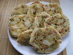 Foto: water Slovak Recipes, Czech Recipes, Ethnic Recipes, No Salt Recipes, Cooking Recipes, Gnocchi, Dumplings, No Cook Meals, Potato Salad