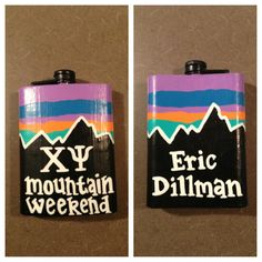 painted flask