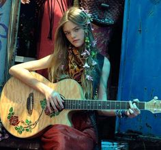 Youthful Hippie Editorials - The Strawberry Fields Forever Photoshoot is Inspired by the Beatles (GALLERY)