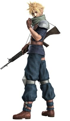 Cadet Cloud Strife from Final Fantasy VII: Crisis Core<3