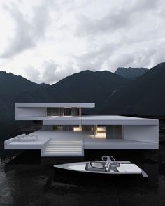 Modern Architecture House, Futuristic Architecture, Amazing Architecture, Architecture Design, Modern Houses, Container Architecture, Architecture Diagrams, Roman Architecture, Futuristic Design