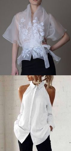 Ladies Elegant Style Blouse Tops