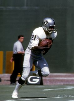 Cliff Branch, Oakland Raiders.Just like many other Future H.O.F Raiders The NFL will skip him too