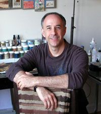"Seth Apter: Listen as Ricë talks to Seth Apter, who lives in New York City and is the creator of the blog, The Altered Page, where he showcases mixed-media art—both his own and that of lots of other artists— hosts polls, interviews, book reviews, and ""The Pulse"", an online and print project with the purpose of which, he explains, is ""to tap into the pulse"" of the online mixed-media arts community."