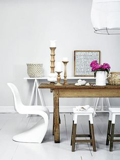 MIX & MATCH KITCHEN TABLE CHAIRS