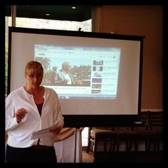 Marcia Depew giving us a little network education today! #sdrefnet #networkeducation #networking #tedx #referralnetworking #businessnetworking #riverwalkgolf #businesstips #businessadvice