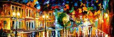 The Aura Of Feelings — PALETTE KNIFE Oil Painting On Canvas By Leonid Afremov.  Official Store: https://www.etsy.com/shop/AfremovArtStudio