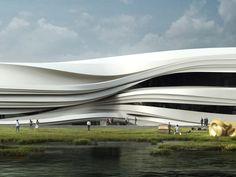 Yinchuan Art Museum by waa - News - Frameweb
