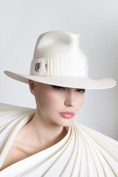 642f5514 Philip Treacy - a leeetle too tall, though. DW-269 Philip Treacy Hats
