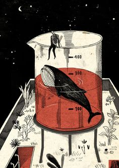 Knock the whale out/敲昏鯨魚 on Behance