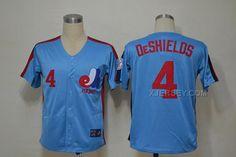 http://www.xjersey.com/expos-4-delino-deshields-blue-throwback-jersey.html EXPOS 4 DELINO DESHIELDS BLUE THROWBACK JERSEY Only $35.00 , Free Shipping!