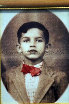 Le Président Abdelaziz Bouteflika, à son enfance.