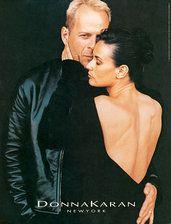 Bruce Willis & Demi Moore for Donna Karan