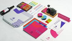Who knew takeout could be this colorful?Glad Headdesigned the packaging  and identity system for Yaposhka, a Japanese restaurant in the Ukraine.