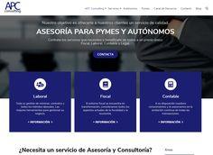Servicios de asesoría y consultoría para Pymes y Autónomos. Desarrollada en WordPress