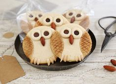 Atelier pâtisserie : mes biscuits « hibou » on Etsy