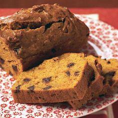 Chocolate Chip Pumpkin Bread | CookingLight.com