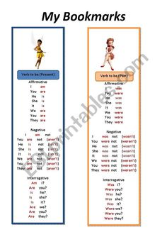 Grammar Rules, Grammar And Vocabulary, Grammar Worksheets, English Lessons For Kids, Esl Lessons, Verb To Be Past, Esl Lesson Plans, My Bookmarks, Teacher Notes
