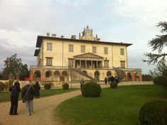 """Tuesday afternoon: an excursion outside of Florence to a villa built by Lorenzo (""""the Magnificent"""") de' Medici."""