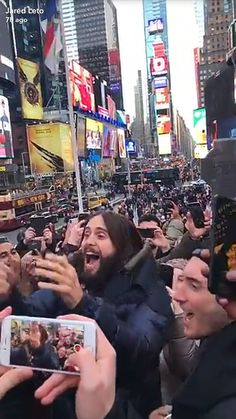 Jared Leto and Stevie Aiello in NYC. Shannon Leto, Jared Leto, Nyc, America, New York City, Usa