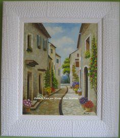 Pintura em tela - Se essa rua fosse minha (vendido)