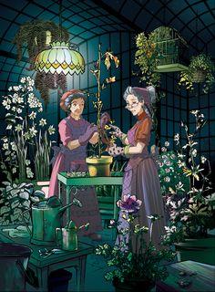 Fairy Oak-Lilac Tomelilla | #ElisabettaGnone #libri #books #romanzo #novel #art #drawing #picture #sketch #draw #artist #illustration #pencil #reading #fable #fiaba