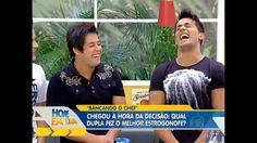 Boskke in Brazilian TV Show - Bancando o Chef: famosos se enfrentam na cozinha do Edu Guedes - Vídeos - R7