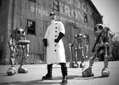 Doctor Steel & The Army of Toy Soldiers | CiFiPoemas