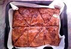 Baklava Pizza, Cheese, Baking, Food, Bakken, Essen, Meals, Backen, Yemek