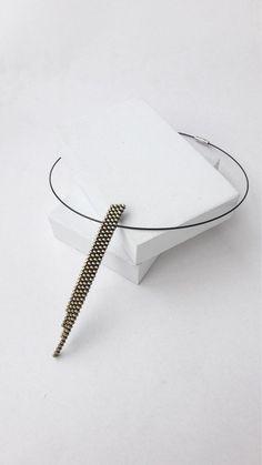 Modern gold pendant Minimalism pendant Geometric pendant Zipper jewelry Long pendant Zipper necklace Contemporary pendant Gold necklace Minimal Jewelry, Simple Jewelry, Unique Necklaces, Modern Jewelry, Custom Jewelry, Handmade Jewelry, Dainty Gold Necklace, Bar Necklace, Industrial Earrings