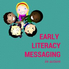 Early Literacy Messages in Action: My Favorite Part Early Literacy, Literacy Centers, Baby Storytime, Learn Singing, Singing Tips, Wordless Book, Early Childhood Program, Kids Library, Library Ideas