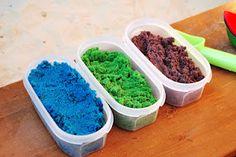 DIY colored sand!
