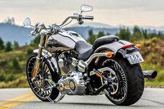 Harley Davidson CVO Breakout #harleydavidsoncustommotorcyclesbeautiful