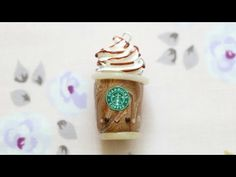 Polymer Clay Frappuccino Charm Tutorial - YouTube