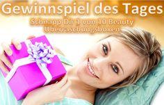Gewinne 1 von 10 Beauty Überraschungsboxen!  Schnell auf www.facebook.com/Beautytesterin.de teilnehmen und gewinnen!