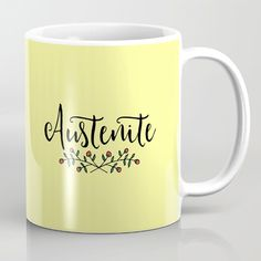 Austenite Mug - $15 ⋆ Gifts for Jane Austen Fans!