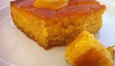 Υπέροχη σιροπιασμένη πορτοκαλόπιτα με γιαούρτι χωρίς αλεύρι. Μια συνταγή για ένα λαχταριστό γλυκό που θα το απολαύσετε όλες τις ώρες και όλες τις εποχές του χρόνου. Υλικά συνταγής Για το κέϊκ: Advertisement 200γρ γιαούρτι (2% λιπαρά) 300 ml αραβοσιτέλαιο (1 και 1/4 του φλιτζανιού) 300 γρ.ζάχαρη (1 και 1/4 του φλιτζανιού) 300 ml χυμό πορτοκαλιού …