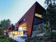 Gulf Islands AA ROBINS architect. Stunning architecture