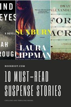 10 must-read suspense novels