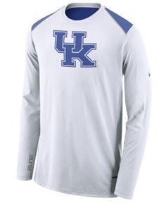 87a4c1da1b7b Nike Men s Kentucky Wildcats Basketball Long Sleeve Shooter T-Shirt - White  XXL Kentucky Wildcats