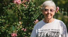 Sr. Megan Rice, age 82, has been arrested 40 or 50 times for acts of civil disobedience and once served six months in prison. In the Nevada desert, she and other peace activists knelt down to block a truck rumbling across the government's nuclear test site, prompting the authorities to take her into custody.