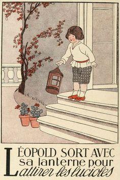 J'aime cette typographie, ces vieux dessins! Je suis nostalgique d'une époque que je n'ai pas connue, je l'avoue! Alphabet en images Marie-Madeleine Franc-Nohain Source: http://gallica.bnf.fr/ark:/12148/btv1b8556556n/f5.item.langES Vía https://www.facebook.com/media/set/?set=a.556269054446372.1073741852.431203863619559&type=1 (Le français et vous: https://www.facebook.com/lefrancaisetvous)
