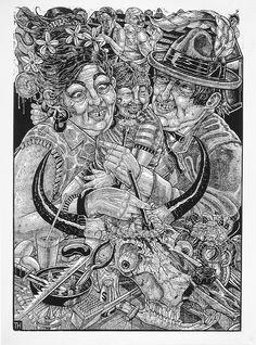 Tom Huck- http://evilprints.com/site/?page_id=168