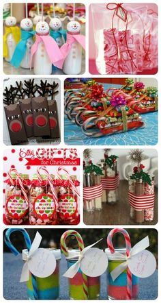 Christmas Party Favor Round Up. I am considering making the cocoa party favor for my next gathering.